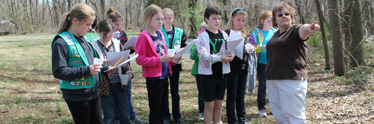 girl scout groups welcome at Echo Dell